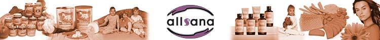 allsana - Produkte für Allergiker