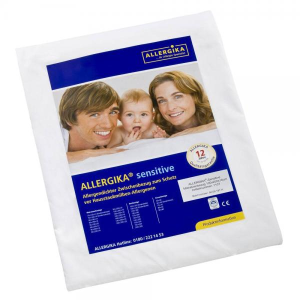 allergika sensitive matratzenbezug 90x200x16cm allergiker. Black Bedroom Furniture Sets. Home Design Ideas