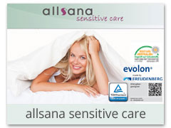 allsana sensitive care Encasing