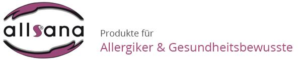 allsana - Produkte für Allergiker-Logo