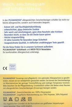 pulmanova kissenbezug 50 x 70 cm allergiebettw sche. Black Bedroom Furniture Sets. Home Design Ideas