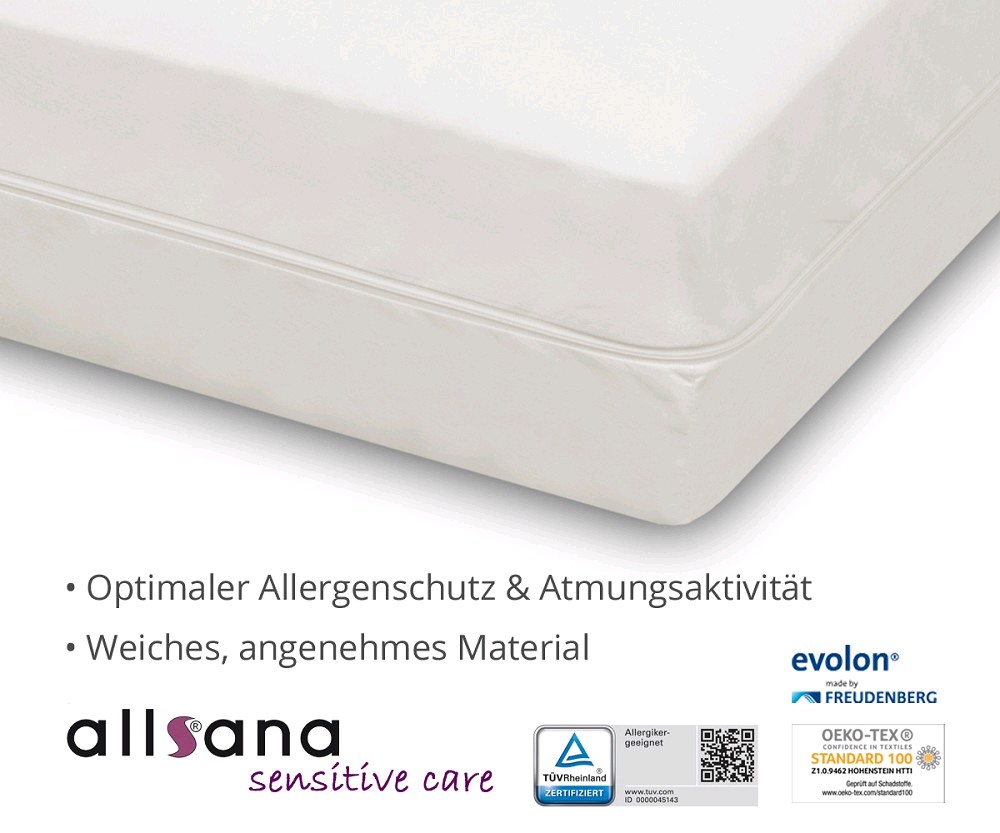 Allsana Sensitive Care Encasing Milbenschutzbezug Für Die