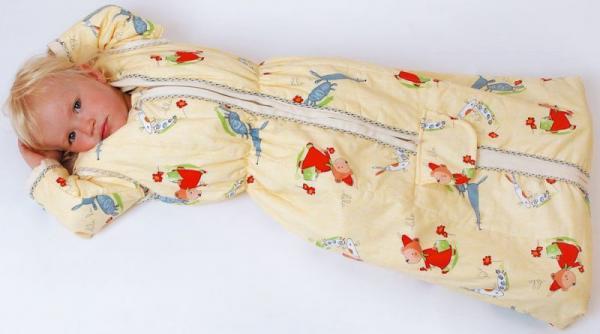 lotties allround schlafsack zitronengelb allsana produkte. Black Bedroom Furniture Sets. Home Design Ideas
